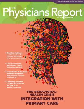 Cover: 2019 Fall, The Physicians Report