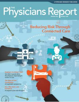 Winter 2015 Reducing Risk Through Connected Care